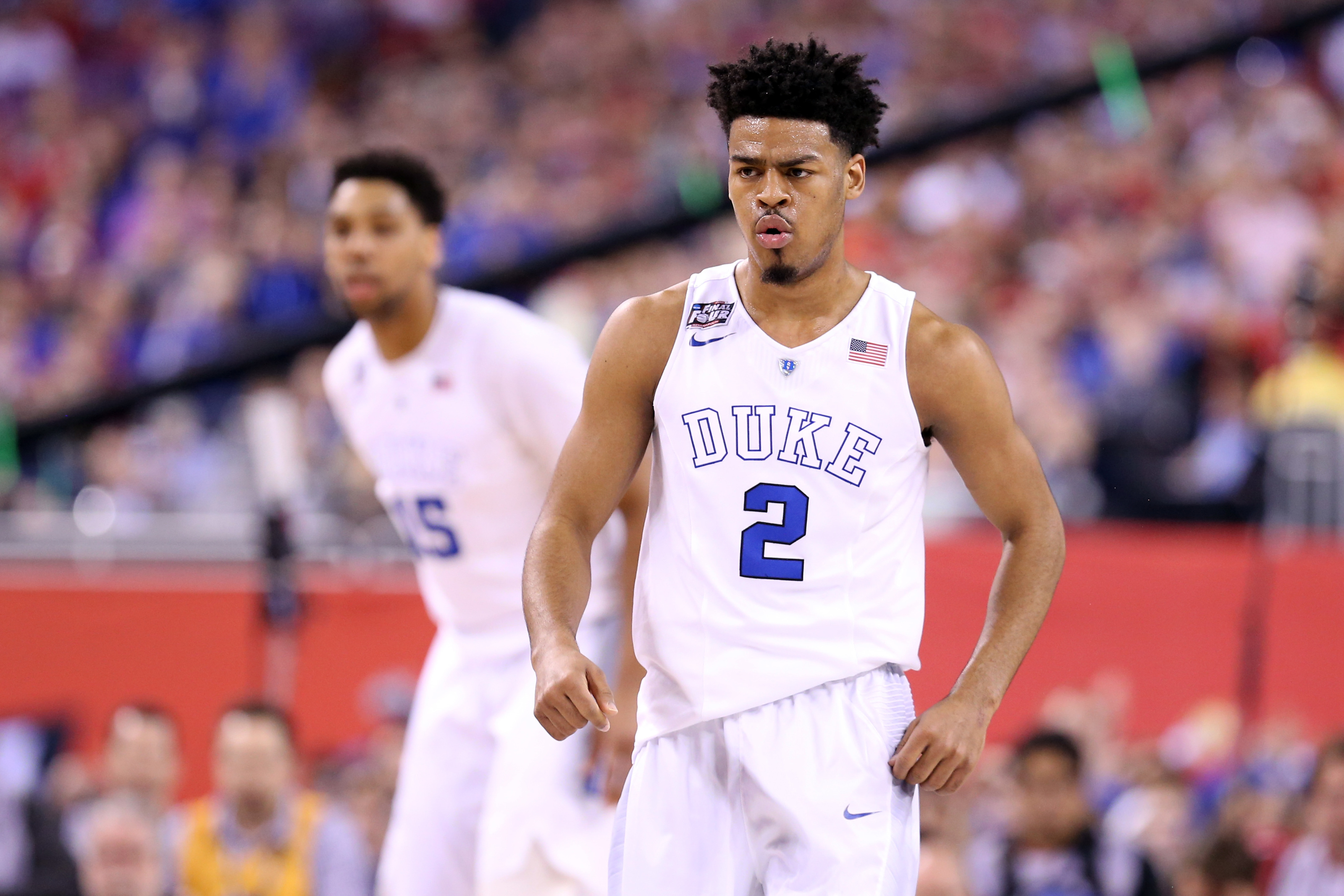 Jared Dudley gifts Quinn Cook his legendary No. 2 to wear for Lakers
